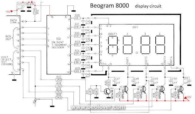 beolover  beogram 8000  display segments working again
