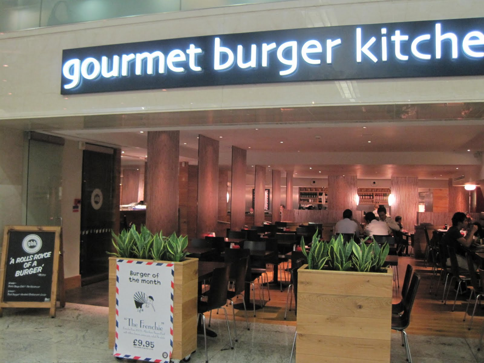 Stuff I Ate London Gourmet Burger Kitchen