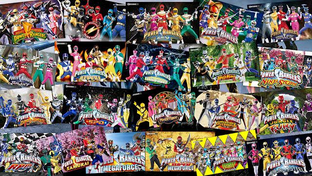 Seri Power Rangers Dari Masa Ke Masa