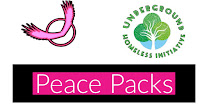 Underground Homeless initiative Peace Packs.