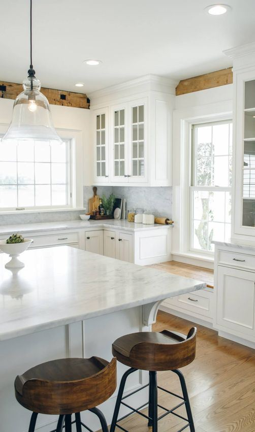best white kitchen decor inspiration