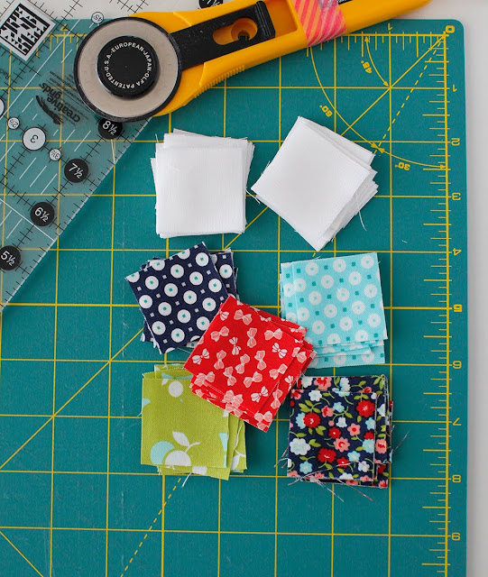 Tips for piecing small quilt blocks and mini quilts