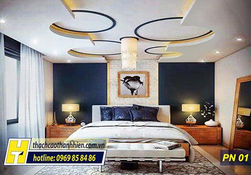 Thủ thuật trong thiết kế trần thạch cao phòng ngủ-2