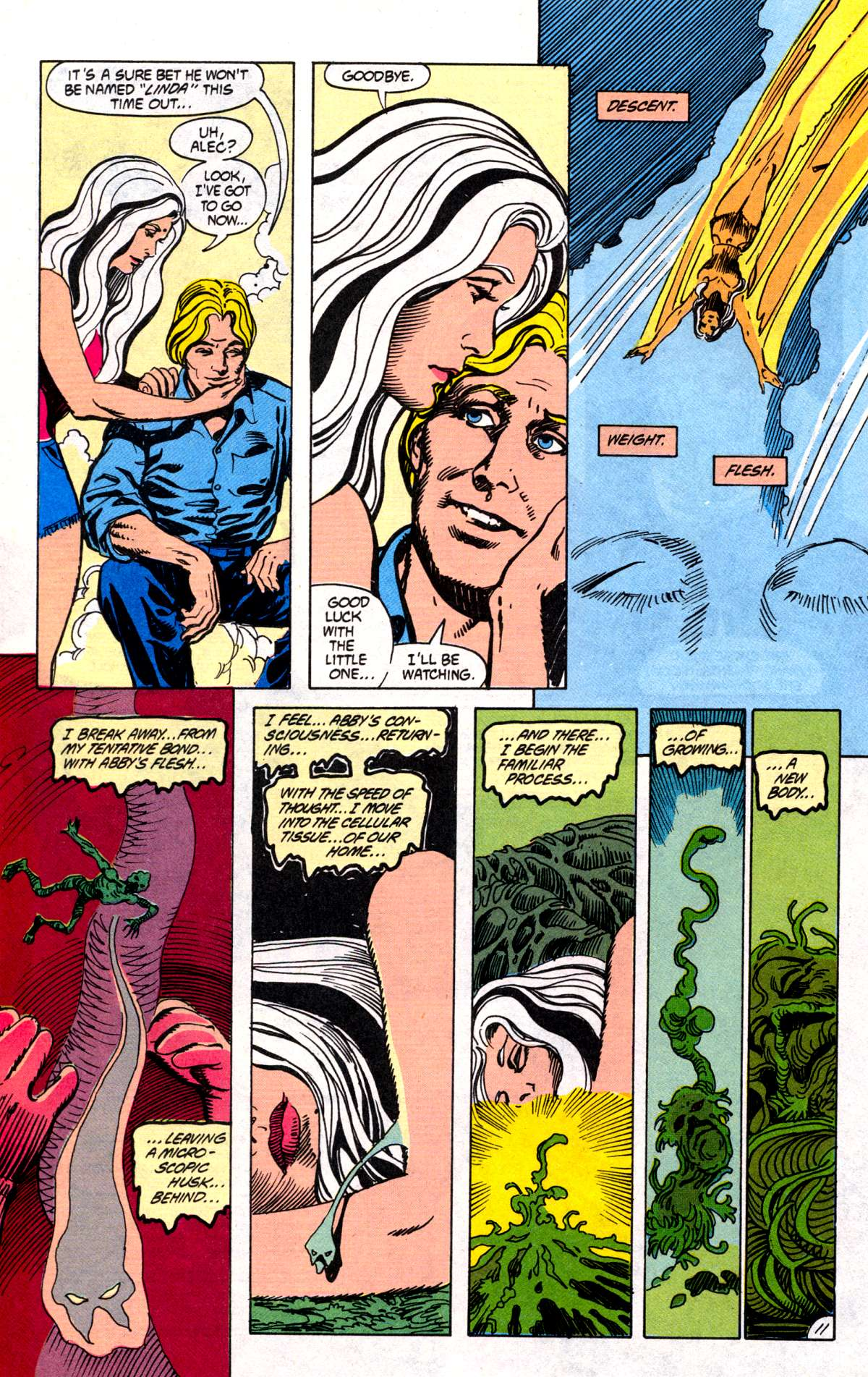 Swamp Thing (1982) Issue #78 #86 - English 12