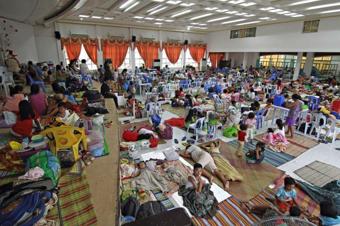 DepEd wants government to stop using schools as evacuation centers
