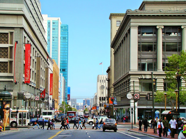 Union Square - San Fransisco - California - USA