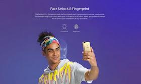 infinix hot 6 face unlock and fingerprint scanner