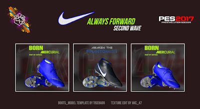 PES 2017 Nike Always Forward Second Wave by AK-RF Mods