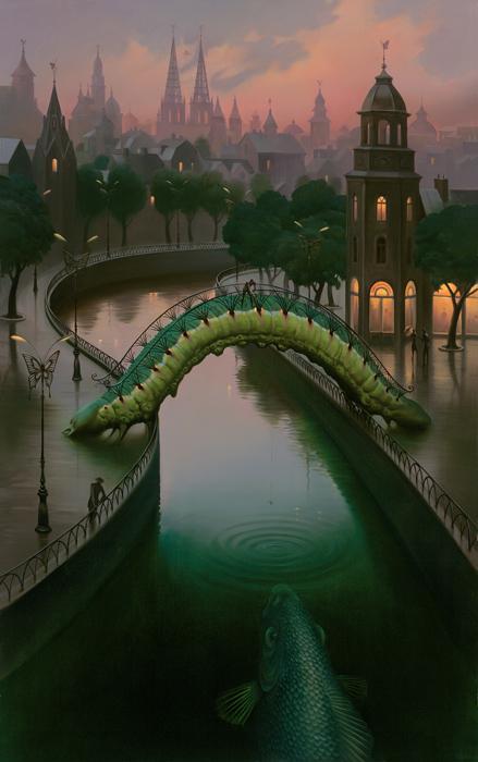 vladimir kush, pintura surrealista