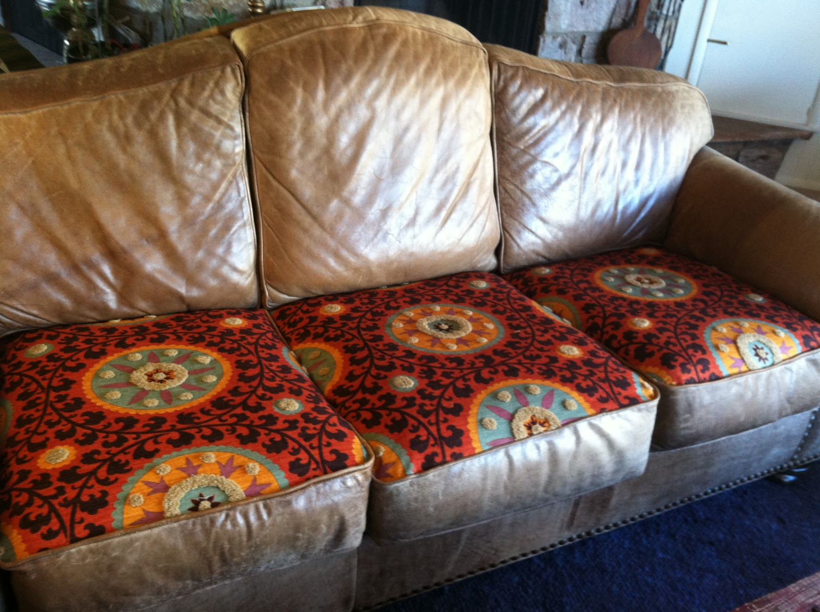 How To Repair Leather Sofa Springs Sell Reupholstering Cushions Mesmerizing Reupholster