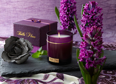 Belle Fleur Rose Immortelle Candle