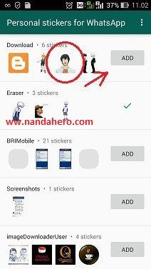 cara membuat stiker pada whatsapp