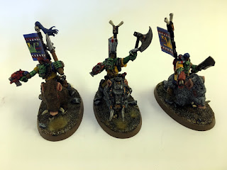 40k 2nd edition Snakebite Boarboyz small group 2
