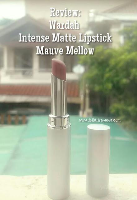 Wardah Intense Matte Lipstick Mauve Mellow