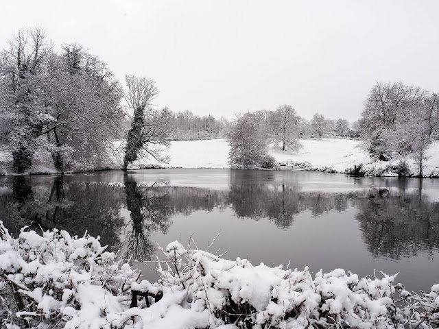 winterlandschap Allier