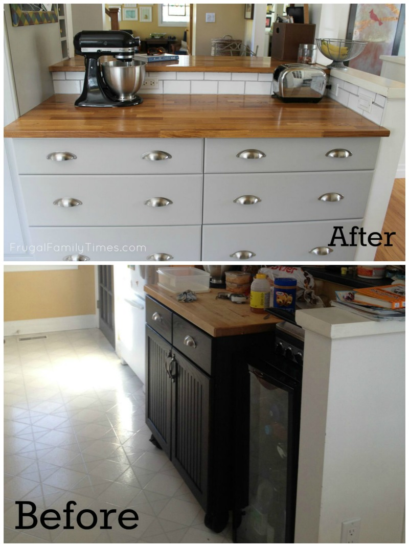 How to Hack InStock Cupboards to Make a Custom Kitchen on a