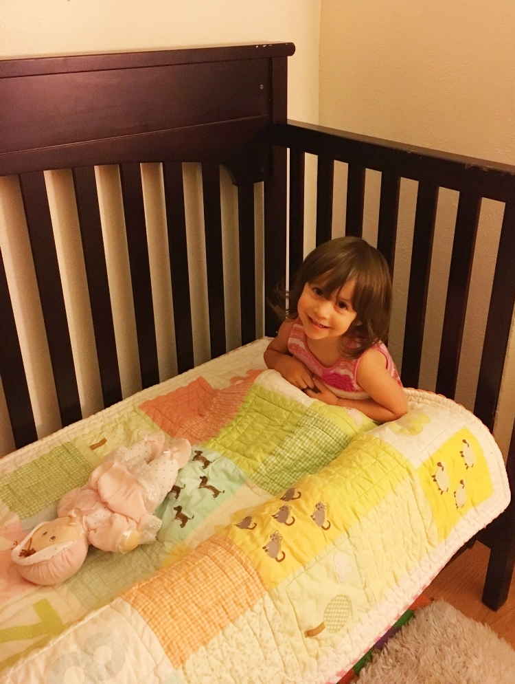 check this out, from co-sleeping to toddler bed plus giveaway