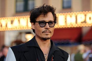 Johnny Depp Short Hairstyle Men Hairstyles Short Long