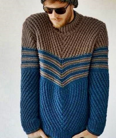 ciekawe męskie swetry