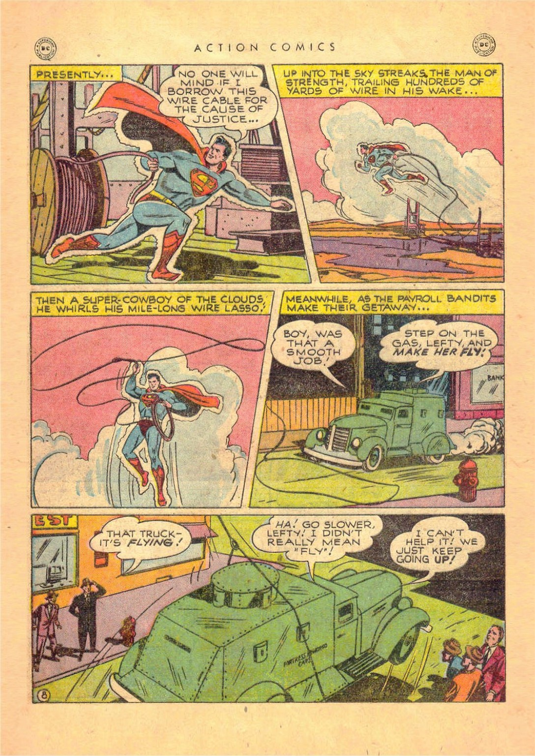 Read online Action Comics (1938) comic -  Issue #124 - 10
