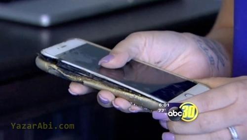 iPhone 6 Plus Orjinal Şarj ile Patladı