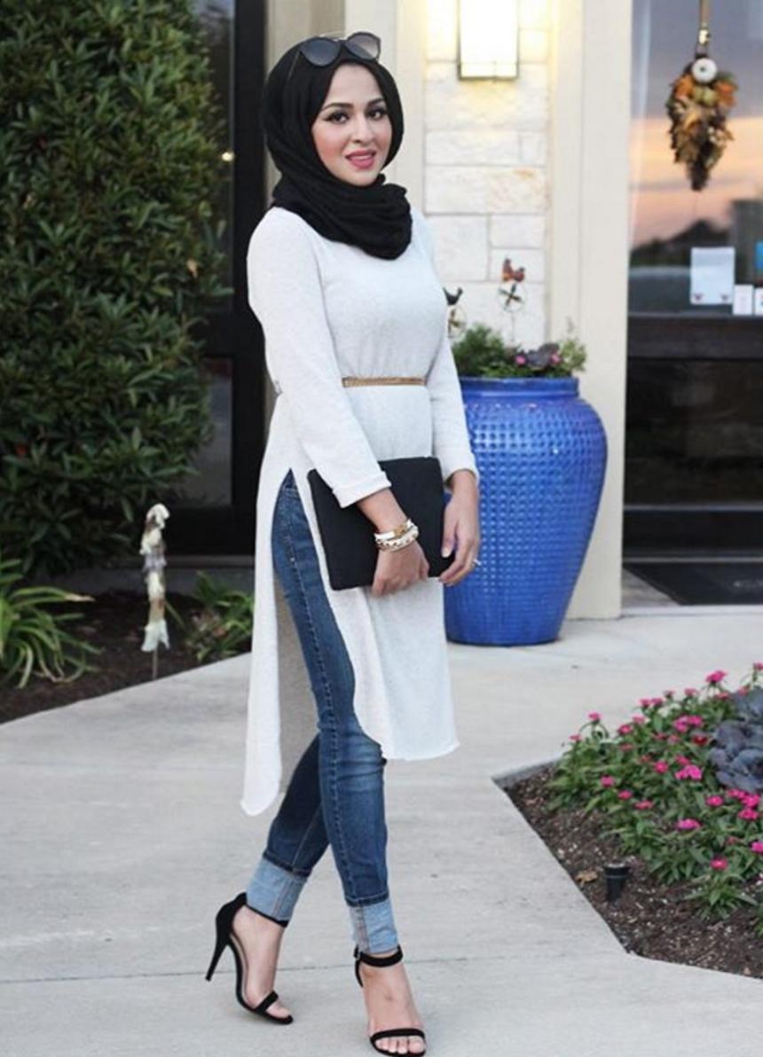 Pin by Rasha Albeick on Hijab fashion   Street hijab