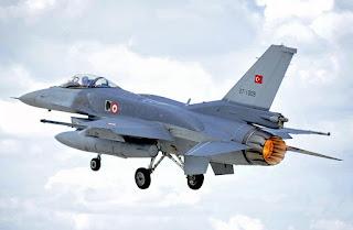 F-16 Angkatan Udara Turki
