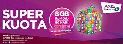 Tarif Internet Murah Pada Paket Internet Axis 3G