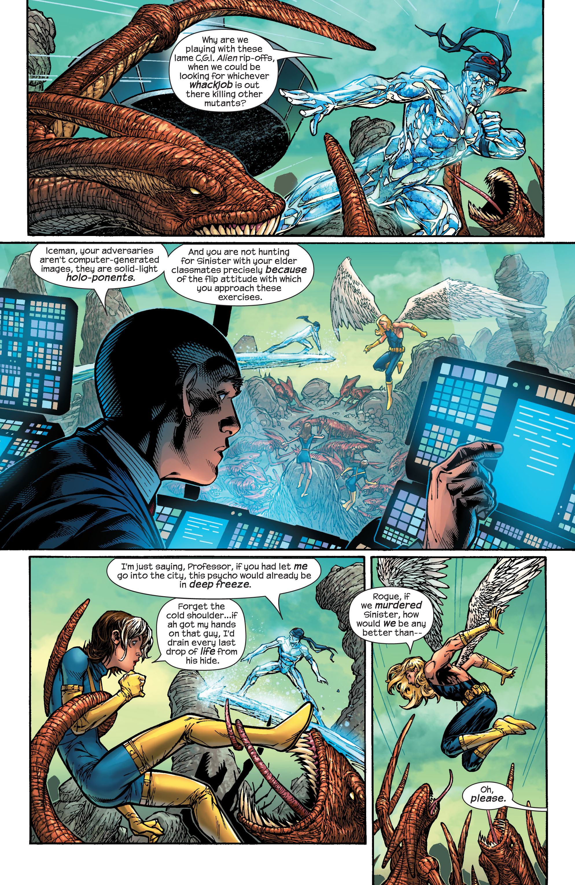Read online Ultimate X-Men comic -  Issue #48 - 4