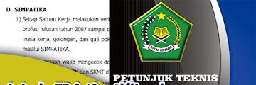 Juknis TPG/Sertifikasi Madrasah TERBARU