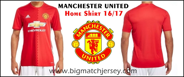 Adidas Manchester United FC 2016-17 Home Shirt