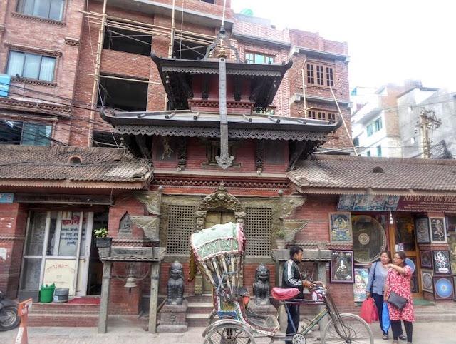 centro storico di Kathmandu