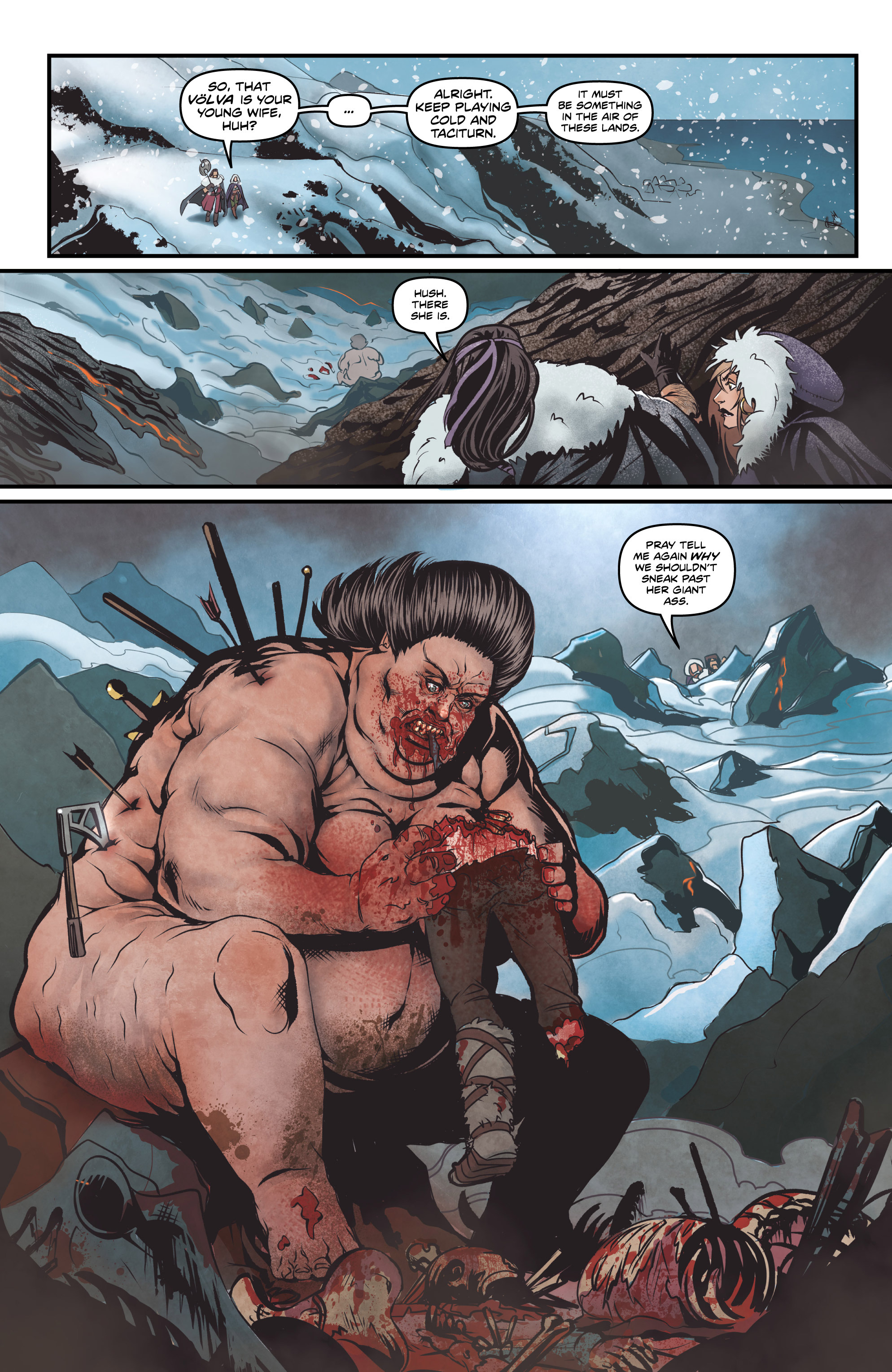 Read online Rogues! (2014) comic -  Issue #2 - 13