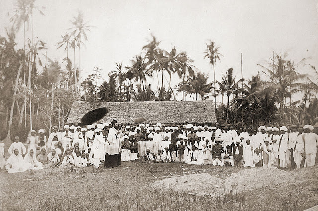 Rev. Habb preaching to the Klings (South Indians) in Penang, 1867