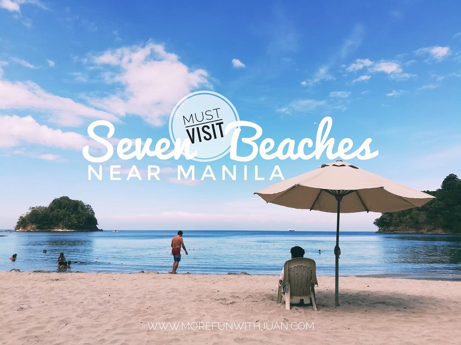 TRAVEL GUIDE: Seven Must-Visit Beaches Near Manila - It's More Fun