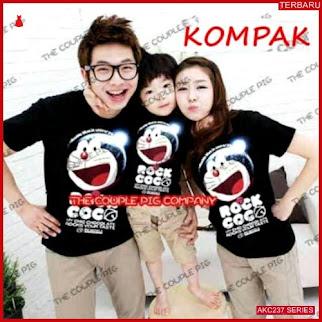 AKC237K52 Kaos Couple Anak 237K52 Keluarga BMGShop