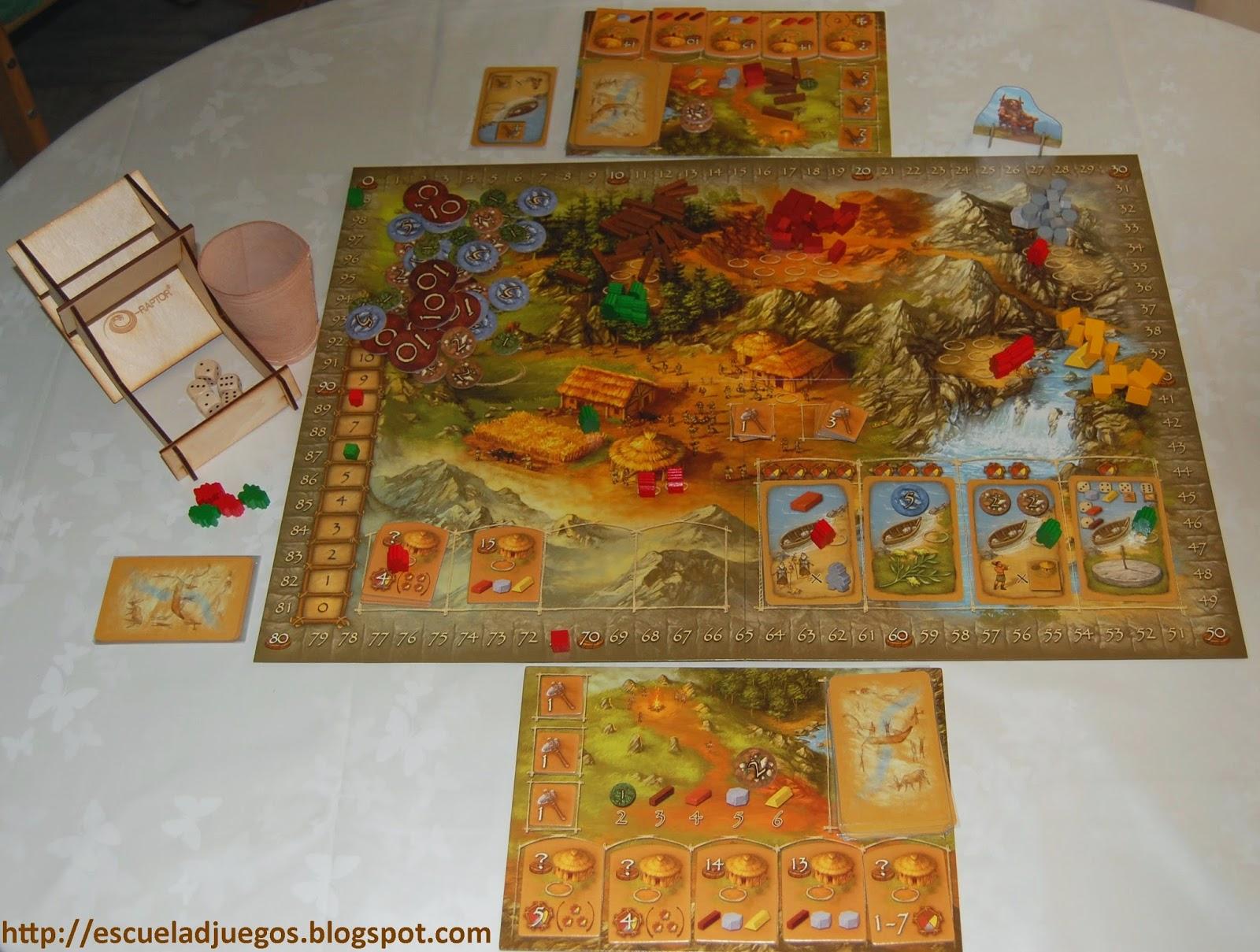 Reseña de Stone Age, juego de mesa para entre 2 y 4 jugadores, publicado en español por Devir.