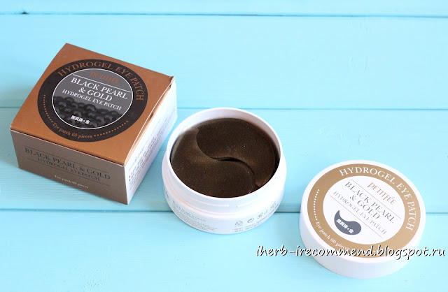 Патчи для глаз  Petitfee, Black Pearl & Gold Hydrogel Eye Patch, 60 Patches отзывы