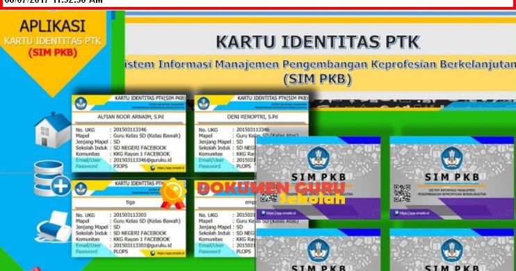 Download Kartu Ptk Sim Pkb 2017 Format Excel Terbaru Tahun