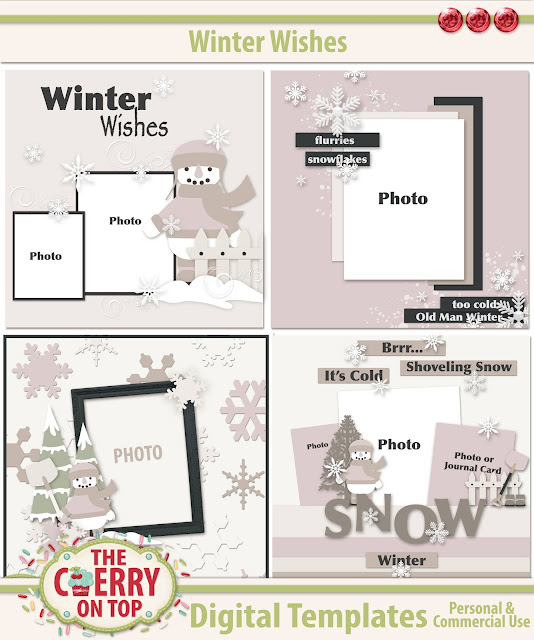 Winter Wishes Templates