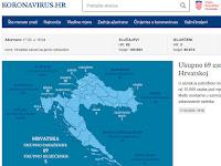 koronavirus.hr slike otok Brač Online