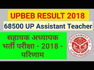 UPBEB Exam Result 2018