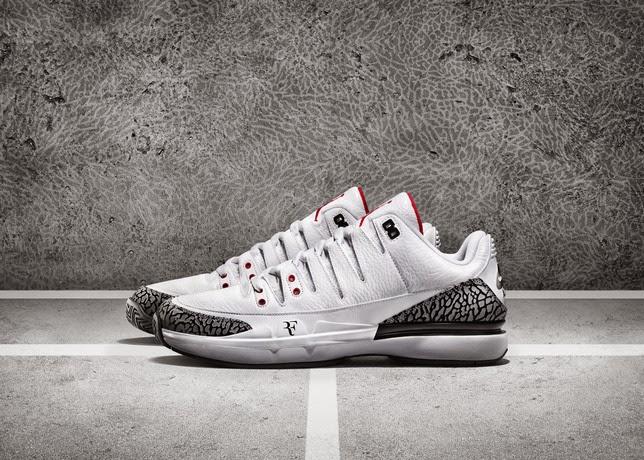 Jordan Nuevas Presentar Las Para Y Reúne Nike Federer Zapatillas gb7f6y