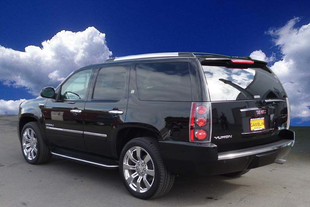 Gamblin Motors: 2011 GMC Yukon Denali Hybrid Black