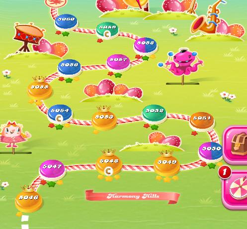 Candy Crush Saga level 5046-5060
