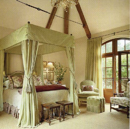 Ceiling Canopy Bedroom: Our French Inspired Home: Inspirational Bedroom Designs
