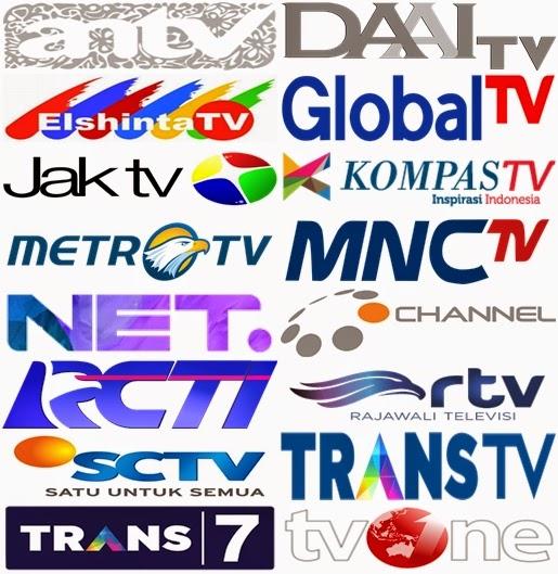 Gambar Logo Stasiun Televeisi DiIndonesia