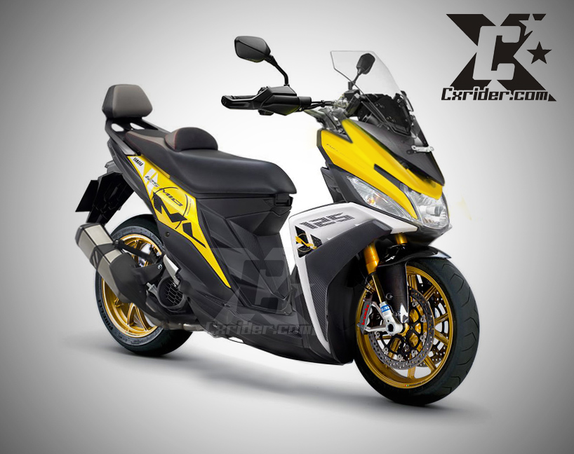 Aksesoris Motor Racing Cara Memodifikasi Yamaha Mio M3 Agar