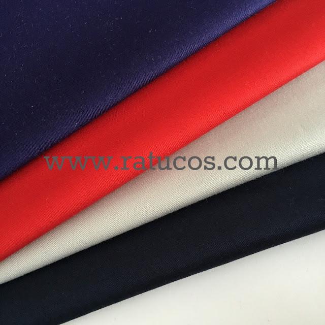 Colorido de la tela para gabardina