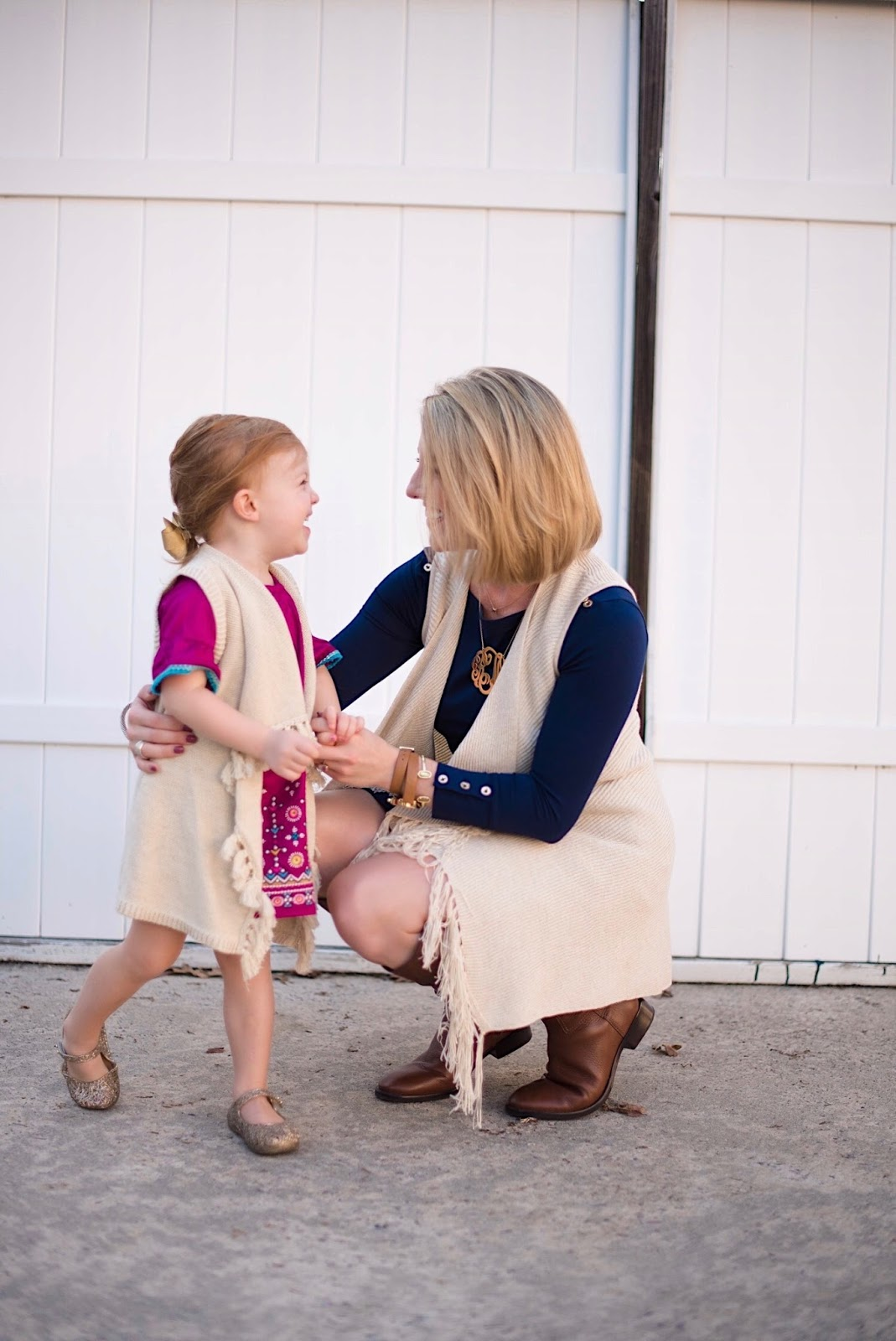 Mommy & Me Matching Lilly Pulitzer Vests - Something Delightful Blog